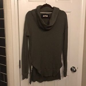Anthropologie thermal cowl sweater